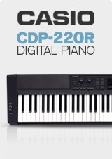 Casio CDP-220R Digital Piano Deluxe Pack