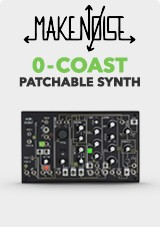 Make Noise 0-kysten én stemme Patchable Synthesizer