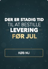Der Er Stadig Tid Til At Bestille Levering Før Jul