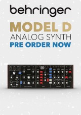 Behringer D Analog Synth PRE ORDER NOW!