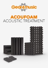 AcouFoam Acoustic Treatment